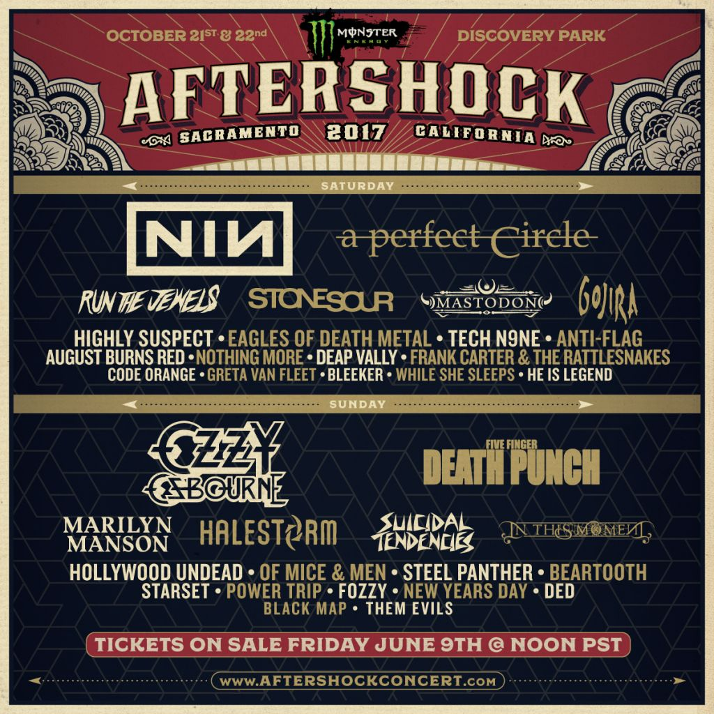 MONSTER MUSIC AFTERSHOCK AND HOUSTON OPEN AIR FESTIVALS THIS AUTUMN!