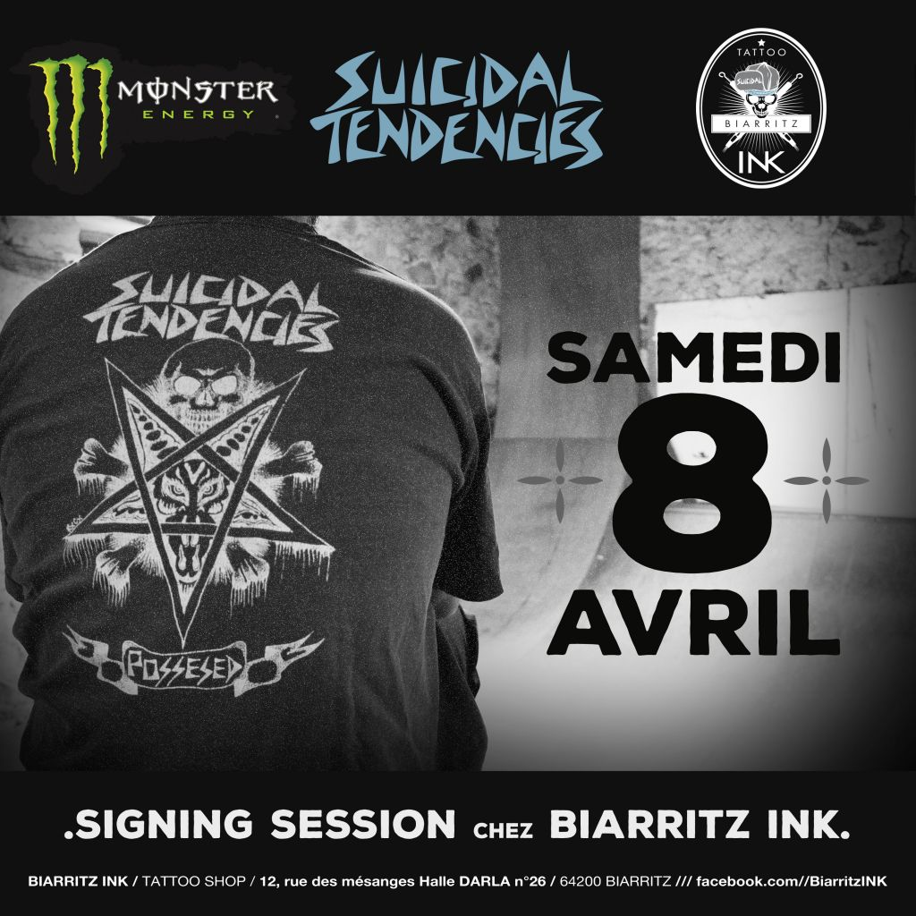 SIGNING SESSION CONFIRMED IN BIARRITZ!