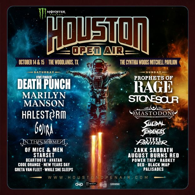 MONSTER MUSIC HOUSTON OPEN AIR ANNOUNCED!