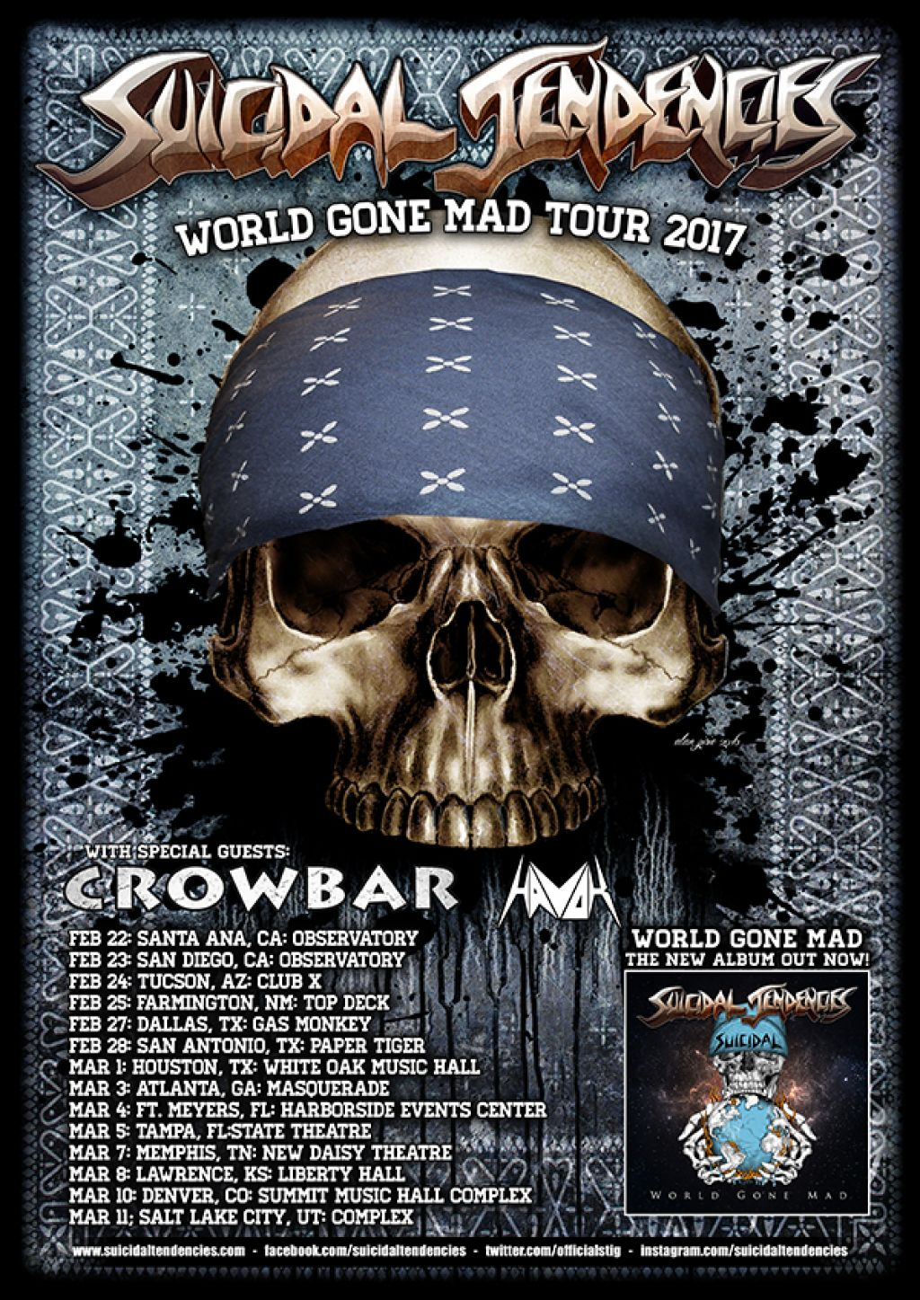 WORLD GONE MAD US TOUR
