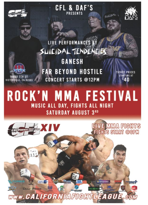 MMA NIGHT IN VICTORVILLE!