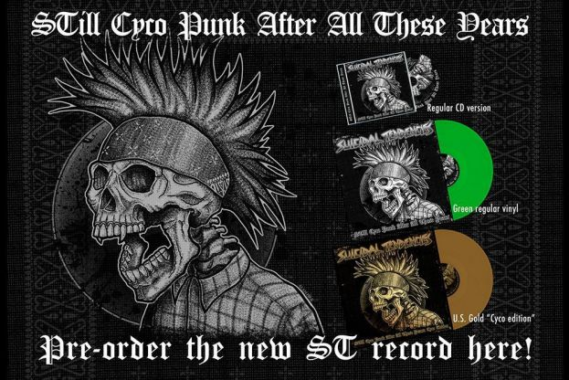 ORDER 'STILL CYCO PUNK AFTER ALL THESE YEARS'